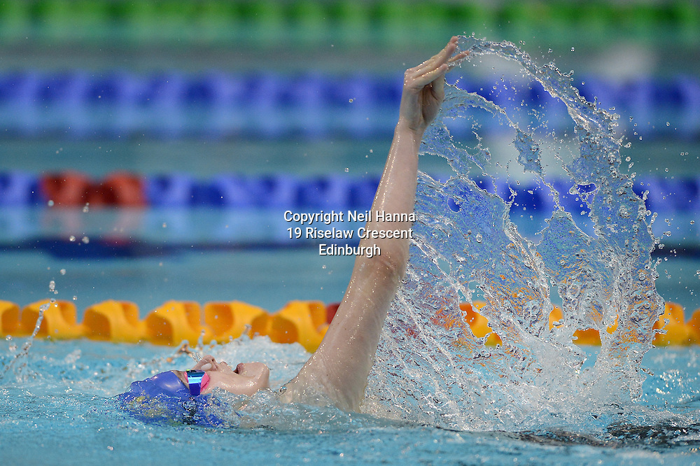 British Para-Swimming International Meet 2016, Tollcross Swimming Centre, Glasgow.<br /> <br /> Event 203 Womens MC 50m Backstroke <br /> <br /> Kayleigh Haggo<br /> <br />  Neil Hanna Photography<br /> www.neilhannaphotography.co.uk<br /> 07702 246823