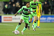 Forest Green Rovers Reece Brown(10) during the The FA Cup 1st round replay match between Forest Green Rovers and Oxford United at the New Lawn, Forest Green, United Kingdom on 20 November 2018.