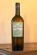 Chateau Coupe Roses, La Caunette. Blanc, white. Minervois. Languedoc. France. Europe. Bottle.