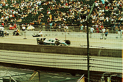Indianapolis Time Trials, May 1987<br /> <br /> A scan from an old photo or slide from the collection of Alan and Becky Look dated 1987 and 1988.