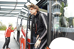 October 2, 2017 - Feusisberg, ZH, Schweiz - Feusisberg, 02.01.2017, Fussball - Besammlung Schweizer Nationalmannschaft, Marwin Hitz kommt zur Besammlung der Schweizer Nationalmannschaft. (Credit Image: © Melanie Duchene/EQ Images via ZUMA Press)