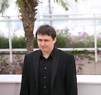 Director Cristian Mungiu at the Dupa Dealuri film photocall at the 65th Cannes Film Festival. Saturday 19th May 2012 in Cannes Film Festival, France.