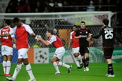 25-11-2009 VOETBAL: AZ - OLYNPIACOS<br /> Door het gelijke spel 0-0 in AZ uitgeschakeld in de Champions League / Stijn Schaars<br /> ©2009-WWW.FOTOHOOGENDOORN.NL