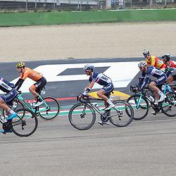 27-09-2020: wielrennen: WK weg mannen: Imola<br /> Pascal Eenkhoorn in de groep 27-09-2020: wielrennen: WK weg mannen: Imola