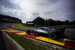 August 25, 2017 - Spa, Belgium - 44 HAMILTON Lewis from Great Britain of team Mercedes GP during the Formula One Belgian Grand Prix at Circuit de Spa-Francorchamps on August 25, 2017 in Spa, Belgium. (Credit Image: © Xavier Bonilla/NurPhoto via ZUMA Press)