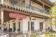 Outdoor Dining at El Cafe Real San Juan Capistrano
