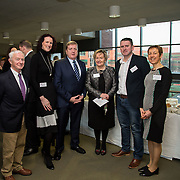 20.01.17<br /> Minister of State for Employment and Small Business, Deputy Pat Breen addressed a seminar for SMEs on The Role of Education in Supporting Small Business at University of Limerick.<br /> <br /> Pictured at the event were, John Walsh, CEO Shannon Microcoil Ltd, Sharon McMeel, Wedding Planner, Minister of State for Employment and Small Business, Deputy Pat Breen, Yvonne Delaney, UL, Brendan Maher, CEO Maher Ltd., and Dr. Briga Hynes, UL.<br /> <br />  Jointly hosted by the Kemmy Business school and the faculty of Science and Engineering, the event brought together small and medium enterprises along with representative bodies, Local Enterprise Offices, Chambers of Commerce, Irish Small and Medium Enterprises association (ISME), Enterprise Ireland and the IDA. The aim of the event was to stimulate greater collaboration between third level institutes and SMEs in relation to research, education and business advice. To date, University of Limerick and Limerick Institute of Technology have supported a number of start-ups through the Nexus Innovation Centre and LIT's Enterprise Centres while academic staff have provided expert advice to local companies. Picture: Alan Place