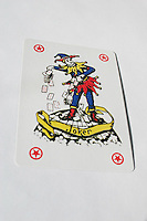 Joker playing card<br />