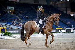 Missiaen Simon, BEL, Charlie<br /> Stuttgart - German Masters 2019<br /> © Hippo Foto - Stefan Lafrentz