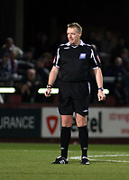 Photo: Mark Stephenson/Sportsbeat Images.<br /> Hereford United v Accrington Stanley. Coca Cola League 2. 24/11/2007.Referee Mr T Kettle