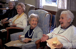 Age Concern Day Centre Yorkshire UK