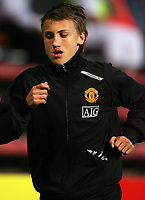 Photo: Paul Thomas. <br />Dunfermline v Manchester United. Pre season Friendly.<br />08/08/2007. <br /><br />Magnus Wolff Eikrem of Utd.