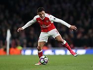 Arsenal's Alexis Sanchez in action during the Premier League match at the Emirates Stadium, London. Picture date: April 26th, 2017. Pic credit should read: David Klein/Sportimage