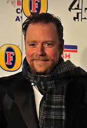© Licensed to London News Pictures. 16/12/2011. London, England. Rufus Hound attends the Channel 4 British Comedy Awards  in Wembley London .  Photo credit : ALAN ROXBOROUGH/LNP