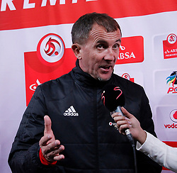 Orlando Pirates coach Mlutin Sredojevic in a match between Orlando Pirates  and Cape Town City at  Fnb Stadium on Tuesday September 19, 2017.