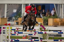 Van Gelderen Boy-Adriaan, (BEL), Be Cool<br /> Class 16 Nations Cup YR<br /> International Competition CSIO Young Riders Opglabbeek 2016<br /> © Dirk Caremans