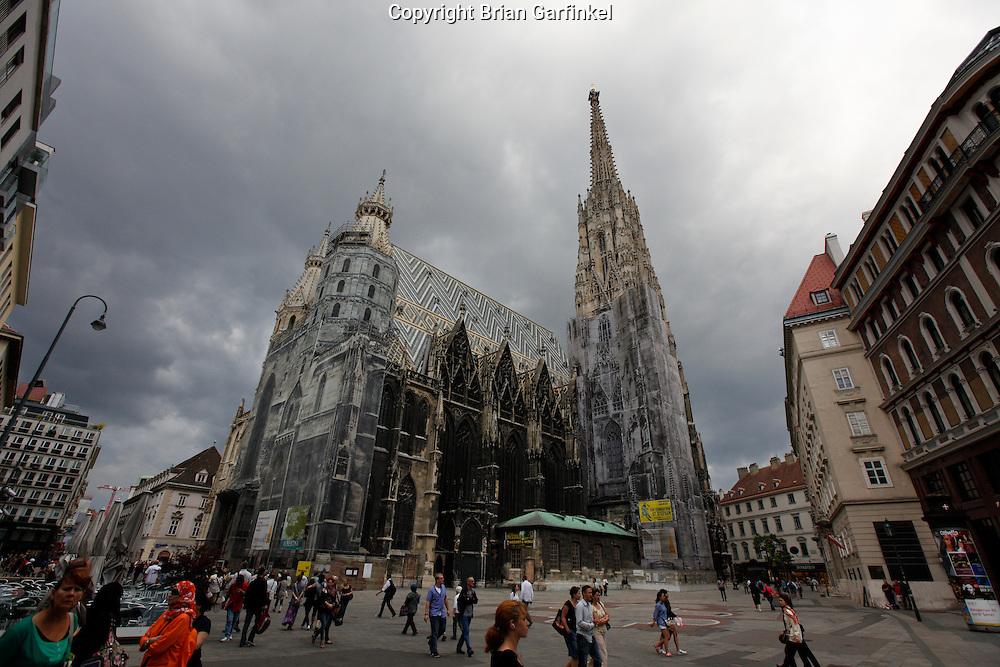 Stephansdom in Vienna, Austria on Thursday June 30th 2011. (Photo by Brian Garfinkel)