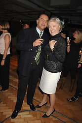Designer ALI DAD and the HON.LAVINIA BOLTON at a party to celebrate the 60th anniversary of House & Garden magazine held at Bonhams, 101 New Bond Street, London on 4th October 2007.<br />