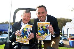 Liberal Democrat election launch, Inverkeithing,12-4-2017<br /> <br /> Willie Rennie MSP and Alex Cole-Hamilton<br /> <br /> (c) David Wardle   Edinburgh Elite media