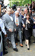 Rolf Harris arrives at Southwark crown court to be jailed for five years nine months