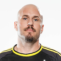 Feb 25, 2016; USA; Columbus Crew player Conor Casey poses for a photo. Mandatory Credit: USA TODAY Sports