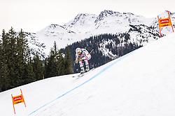 04.03.2021, Saalbach Hinterglemm, AUT, FIS Weltcup Ski Alpin, Abfahrt, Herren, 2. Training, im Bild Adrien Theaux (FRA) // Adrien Theaux of France during the 2nd training for the men's Downhill Race of FIS ski alpine world cup in Saalbach Hinterglemm, Austria on 2021/03/04. EXPA Pictures © 2021, PhotoCredit: EXPA/ Johann Groder