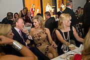 PRINCE PIERRE D'ARENBERG; BEGUM AGA KHAN; MRS. YVONNE WINKLER, Dinner at the Museum der Moderne. Salzburg.  Amadeus Weekend. Salzburg. 23 August 2008.  *** Local Caption *** -DO NOT ARCHIVE-© Copyright Photograph by Dafydd Jones. 248 Clapham Rd. London SW9 0PZ. Tel 0207 820 0771. www.dafjones.com.