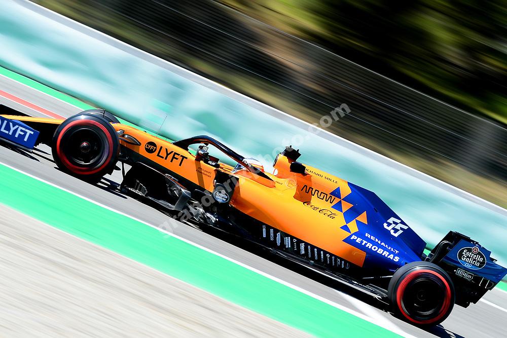 Carlos Sainz Jr (McLaren-Renault) during practice before the 2019 Spanish Grand Prix at the Circuit de Barcelona-Catalunya. Photo: Grand Prix Photo