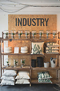 Industry & Co interior design shop on 04th April 2017 in Dublin, Republic of Ireland. Dublin is the largest city and capital of the Republic of Ireland.