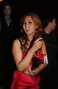 YUKI OSHIMA-WILPON, Party to celebrate the First issue of British Harper's Bazaar. Cirque, Leicester Sq. London. 16 February 2006. ONE TIME USE ONLY - DO NOT ARCHIVE  © Copyright Photograph by Dafydd Jones 66 Stockwell Park Rd. London SW9 0DA Tel 020 7733 0108 www.dafjones.com