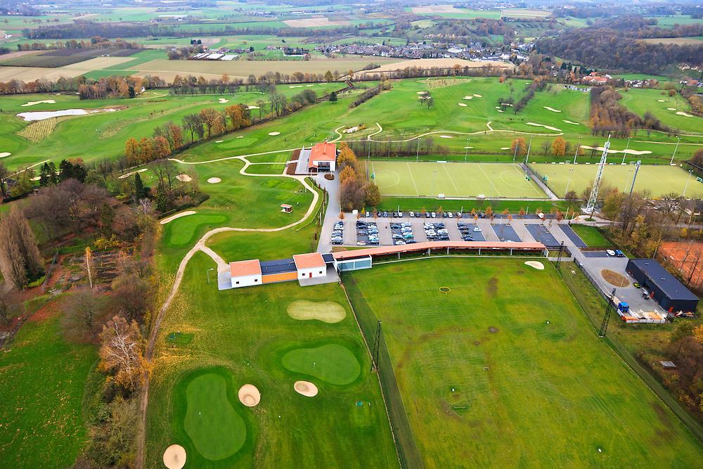 Nederland, Limburg, Gemeente Margraten, 15-11-2010; Golfbaan Het Rijk van Margraten.Golf course near Maastricht..luchtfoto (toeslag), aerial photo (additional fee required).copyright foto/photo Siebe Swart