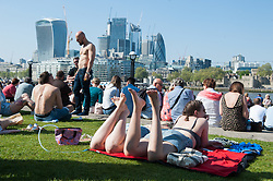 May 6, 2018 - London, London, United Kingdom - Lebara Days of Poland Festival. ..People seen enjoying the good weather at Potters Fields Park, during the Polish Festival...The biggest Polish Festival in the United Kingdom, annually held in Potters Fields Park by Tower Bridge. The festival combines a variety of attractions for children and adults, including face painting, giant bubble shows, Polish national dances and live music including prominent Polish musicians. (Credit Image: © Gustavo Valiente/i-Images via ZUMA Press)