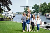 Zomerfotosessie Konkijke Familie op de Kagerplassen