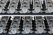 Mercedes-AMG GmbH engine production factory in Affalterbach in Bavaria, Germany - cylinder head covers