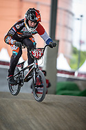 #313 (KIMMANN Niek) NED at Round 5 of the 2019 UCI BMX Supercross World Cup in Saint-Quentin-En-Yvelines, France