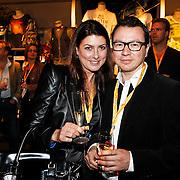 NLD/Amsterdam/20101007 - Europesche premiere Cirque du Soleil Totem, Euvgenia Parakhina  en ...........