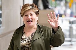 © Licensed to London News Pictures. 14/07/2019. London, UK. Shadow Secretary of State for Foreign and Commonwealth Affairs Emily Thornberry arrives at the BBC. Later she will appear on the Andrew Marr Show. Photo credit: George Cracknell Wright/LNP