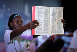 """9 March 2018, Arusha, Tanzania: Evangelism Plenary. From 8-13 March 2018, the World Council of Churches organizes the Conference on World Mission and Evangelism in Arusha, Tanzania. The conference is themed """"Moving in the Spirit: Called to Transforming Discipleship"""", and is part of a long tradition of similar conferences, organized every decade."""