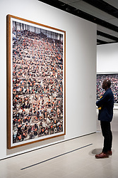 © Licensed to London News Pictures. 24/01/2018. London, UK. Photograph titled Nha Trang, 2004 by artist ANDREAS GURSKY is on display as part the first major UK retrospective of the German photographer. The showcase also marks the Haywood galleries 50th anniversary following its two year refurbishment. Photo credit: Ray Tang/LNP