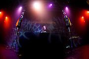 JONWAYNE performs at the Electronica en Abril festival 2014