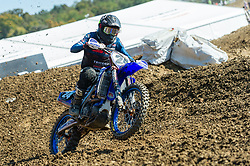 September 30, 2018 - Imola, BO, Italy - Shaun SIMPSON (GBR) in action during Race 1 of MXGP italian round in Imola. (Credit Image: © Riccardo Righetti/ZUMA Wire)