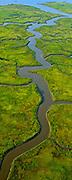 Aerial, South Jersey, NJ, Marshlands