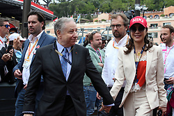 May 26, 2019 - Monte Carlo, Monaco - xa9; Photo4 / LaPresse.26/05/2019 Monte Carlo, Monaco.Sport .Grand Prix Formula One Monaco 2019.In the pic: Jean Todt (FRA), President FIA and Michelle Yeoh, wife of Jean Todt  (Credit Image: © Photo4/Lapresse via ZUMA Press)