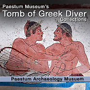 The Tomb of the Diver Greek Frescoes Pictures. Paestum Photos & Images