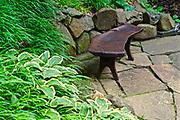 Bench sculpture, Chanticleer Gardens, Wayne, PA