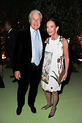 MARTIN & ANNE SUMMERS at a dinner hosted by Cartier in celebration of the Chelsea Flower Show held at Battersea Power Station, 188 Kirtling Street, London SW8 on 23rd May 2011.