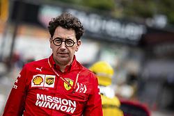 May 23, 2019 - Monte Carlo, Monaco - Motorsports: FIA Formula One World Championship 2019, Grand Prix of Monaco, .Mattia Binotto (ITA, Scuderia Ferrari Mission Winnow) (Credit Image: © Hoch Zwei via ZUMA Wire)