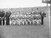Cavan Senior Football Team. All Ireland Football Semi Final Cavan v Cork..Winners - Cavan..17.08.52  17th August 1952