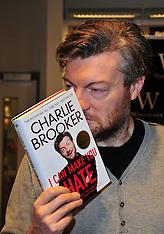 NOV 2 2012 Charlie Brooker Book Signing