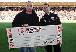 Half Time Draw - Photo mandatory by-line: Dougie Allward/JMP - Mobile: 07966 386802 - 11/10/2014 - SPORT - Football - Bristol - Ashton Gate - Bristol City v Chesterfield - Sky Bet League One